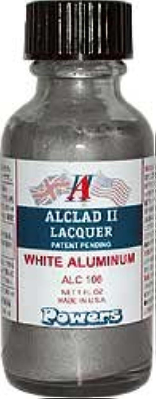 Alclad ALC-106 リアルメタルカラー ホワイトアルミ