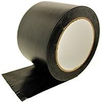 "3"" General Purposeブラック断熱粘着PVCビニールシーリングコーディングマーキングで電気テープ(72mm) 36ヤード7Mil"