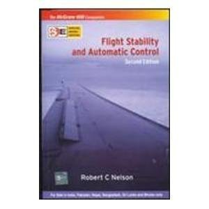 Flight Stability and Automatic Control: Instructors Manual. 2nd Ed