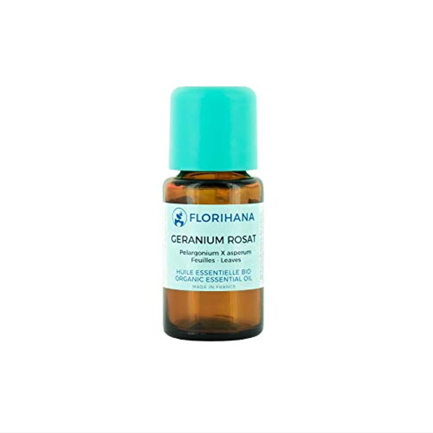 土器血色の良いとんでもないオーガニック エッセンシャルオイル ローズゼラニウム 5g(5.6ml)