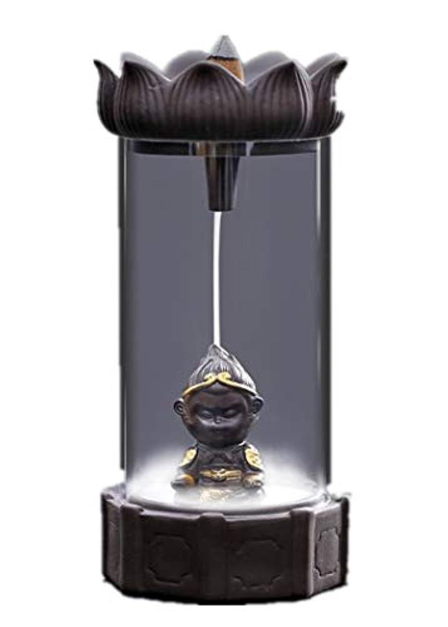 再発するステップ熱望するXPPXPP Backflow Incense Burner, Household Ceramic Returning Cone-shaped Candlestick Burner