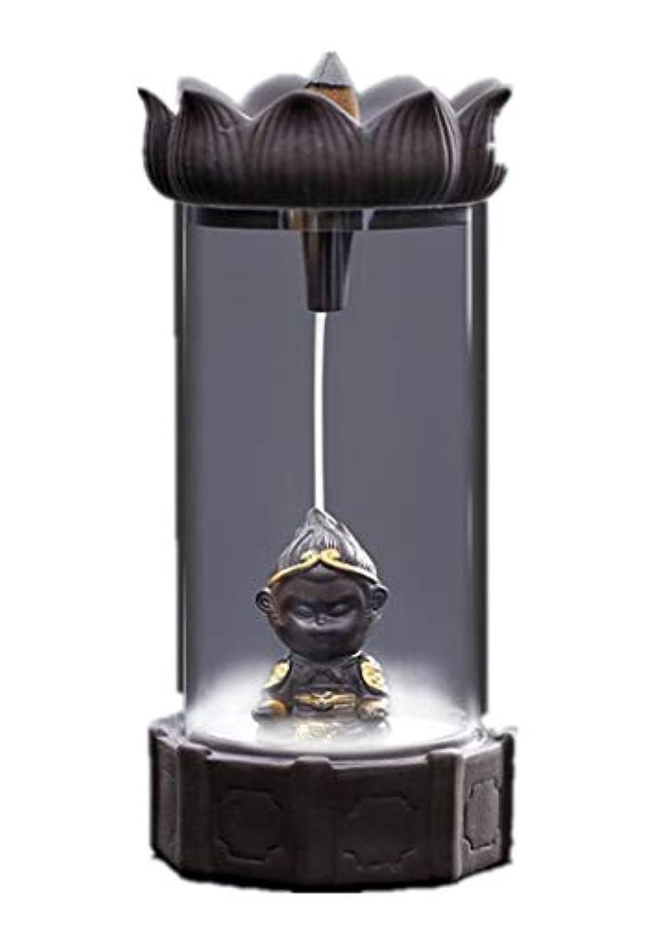 ヘビ瞳一杯XPPXPP Backflow Incense Burner, Household Ceramic Returning Cone-shaped Candlestick Burner