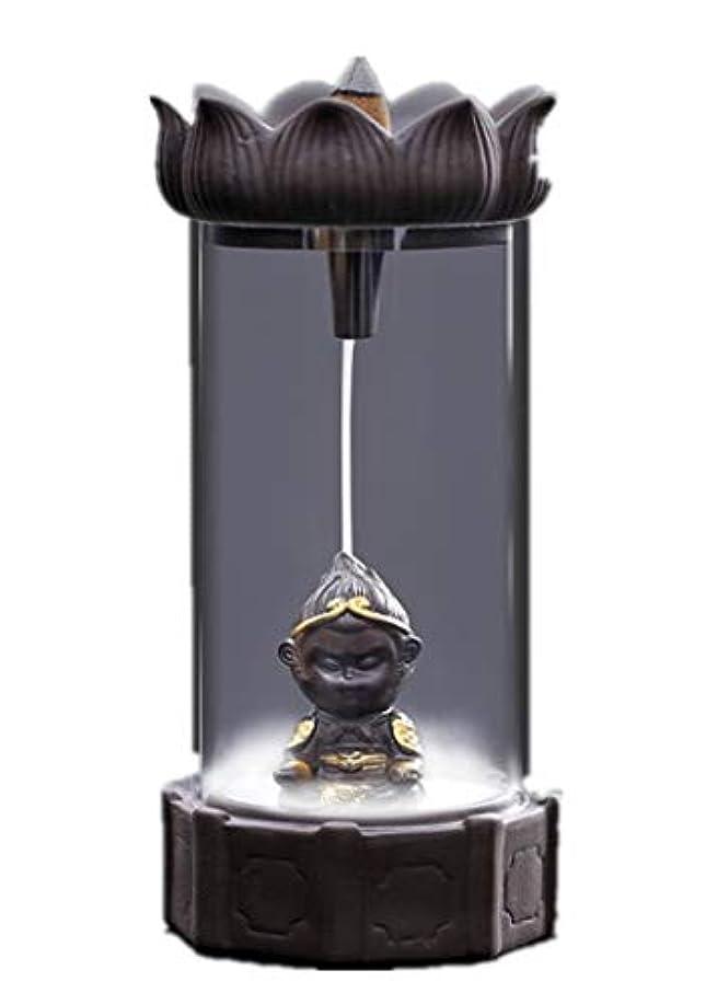 流体ラケット石炭XPPXPP Backflow Incense Burner, Household Ceramic Returning Cone-shaped Candlestick Burner