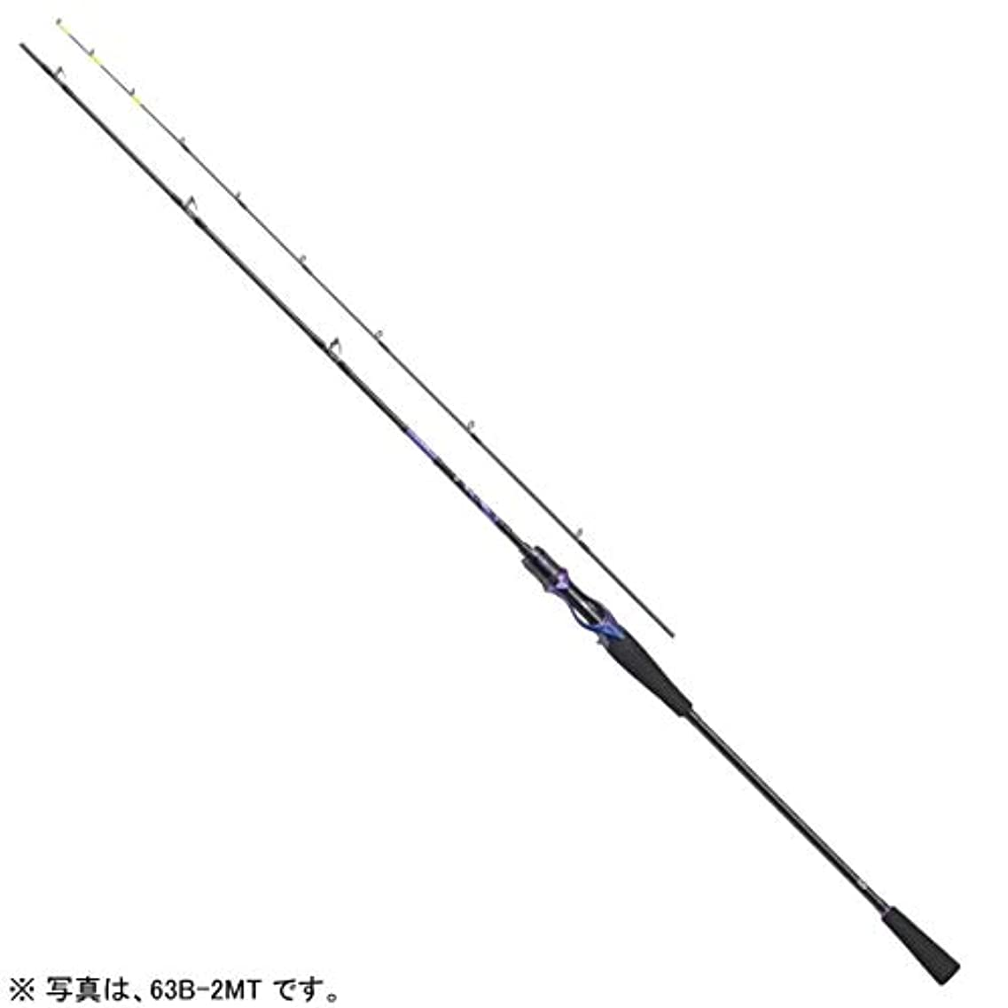 ささやき確かにヘルシーダイワ(Daiwa) タチウオ ジギングロッド ベイト 鏡牙 AIR 63B-2TG 釣り竿