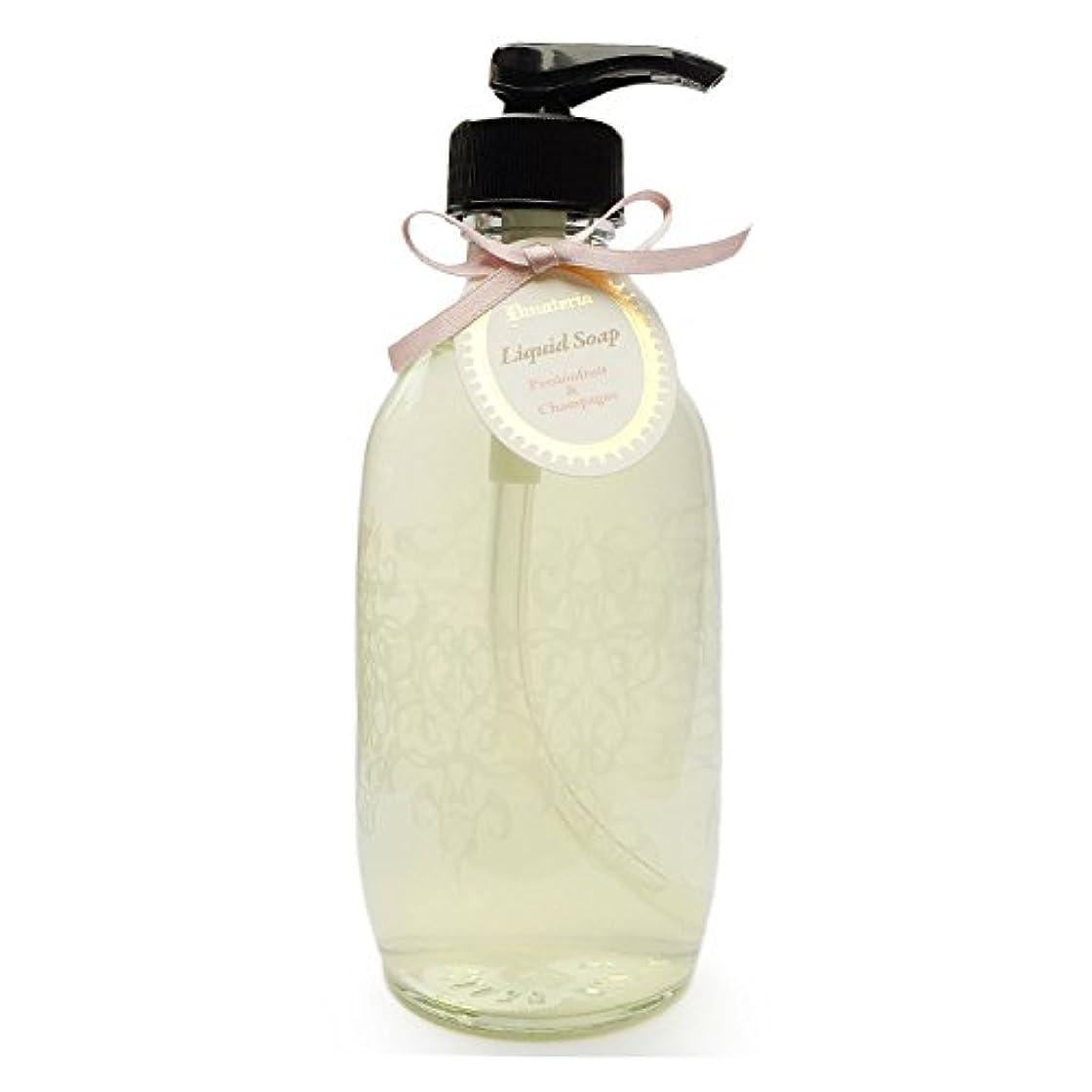ラウンジ機動注入するD materia リキッドソープ パッションフルーツ&シャンパン Passionfruit&Champagne Liquid Soap ディーマテリア