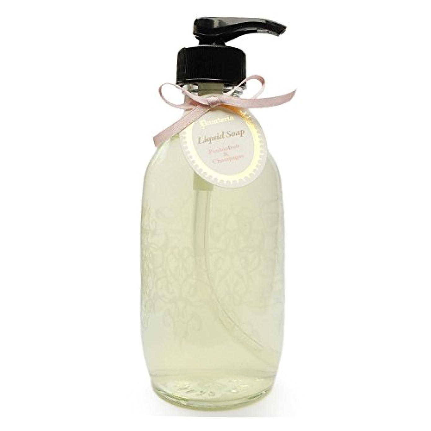 火炎必需品中にD materia リキッドソープ パッションフルーツ&シャンパン Passionfruit&Champagne Liquid Soap ディーマテリア