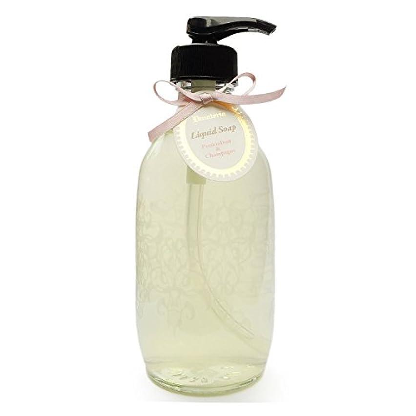 広がり民間人不潔D materia リキッドソープ パッションフルーツ&シャンパン Passionfruit&Champagne Liquid Soap ディーマテリア