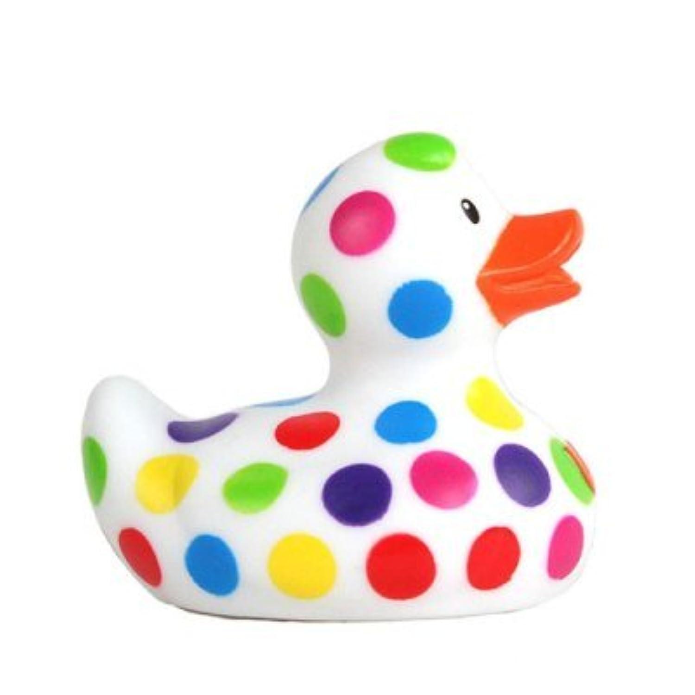 DUCKSHOP   Mini Pop Dot Duck - Rubber Duck   Bathduck   ゴム製のアヒル  L: 6,5 cm