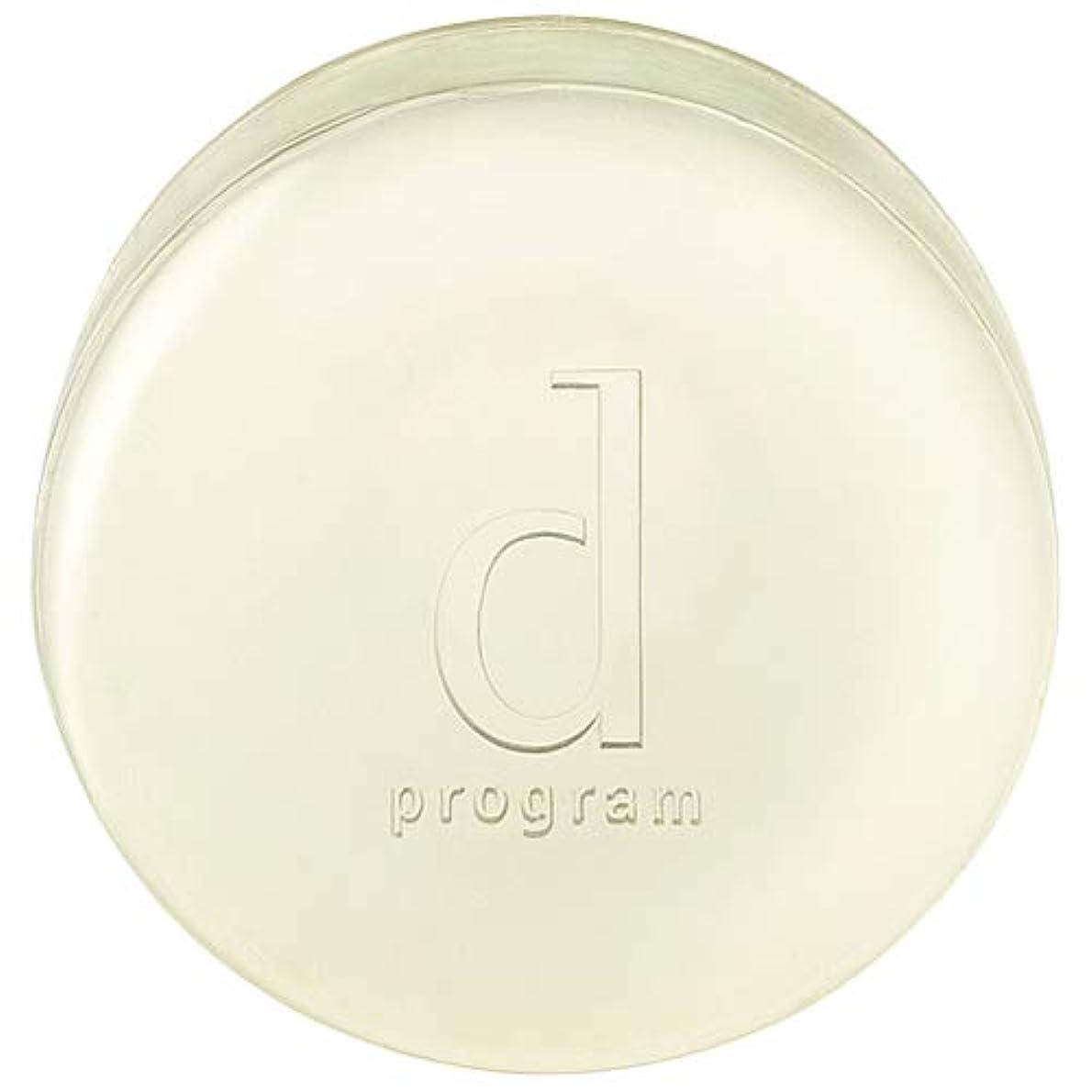 完全に乾く地区人類d program 資生堂 コンディショニングソープ 100g [366202] [並行輸入品]