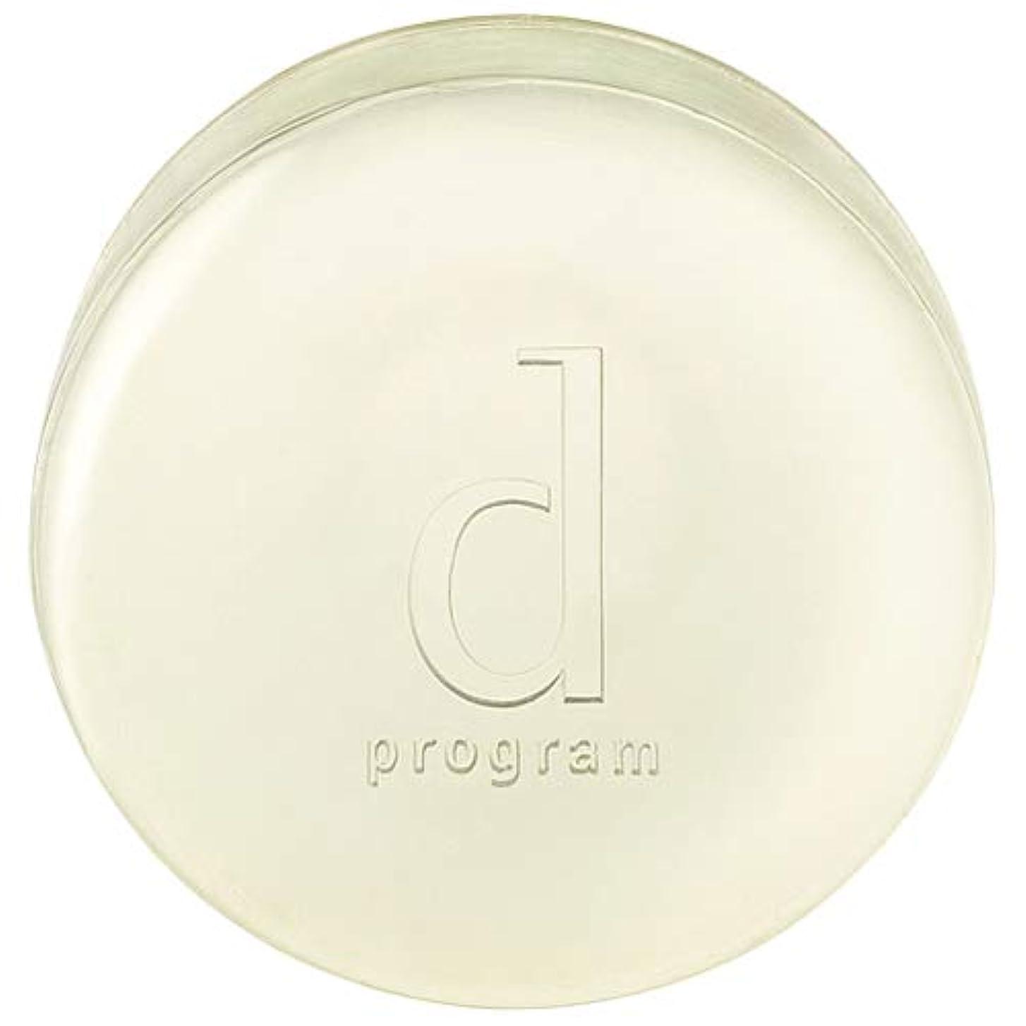 バスルーム塗抹桃d program 資生堂 コンディショニングソープ 100g [366202] [並行輸入品]