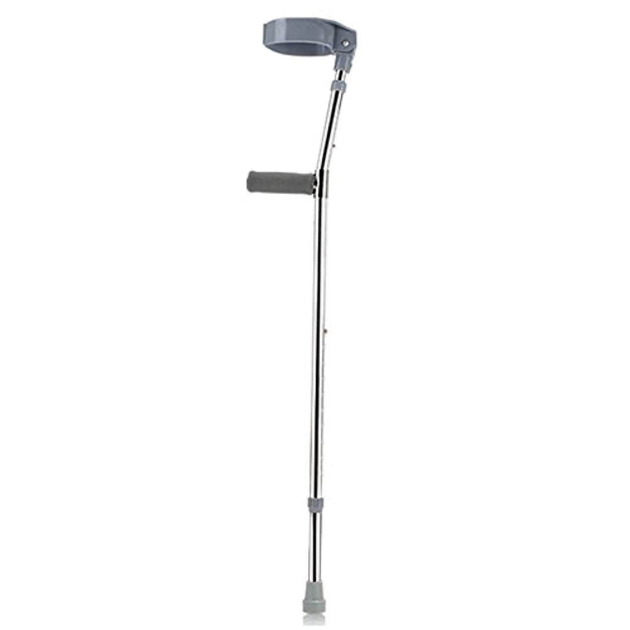 宇宙船スコア魔術アルミニウム合金、肘、松葉杖、腋窩、前腕、骨折、障害者、歩行補助具,Grey