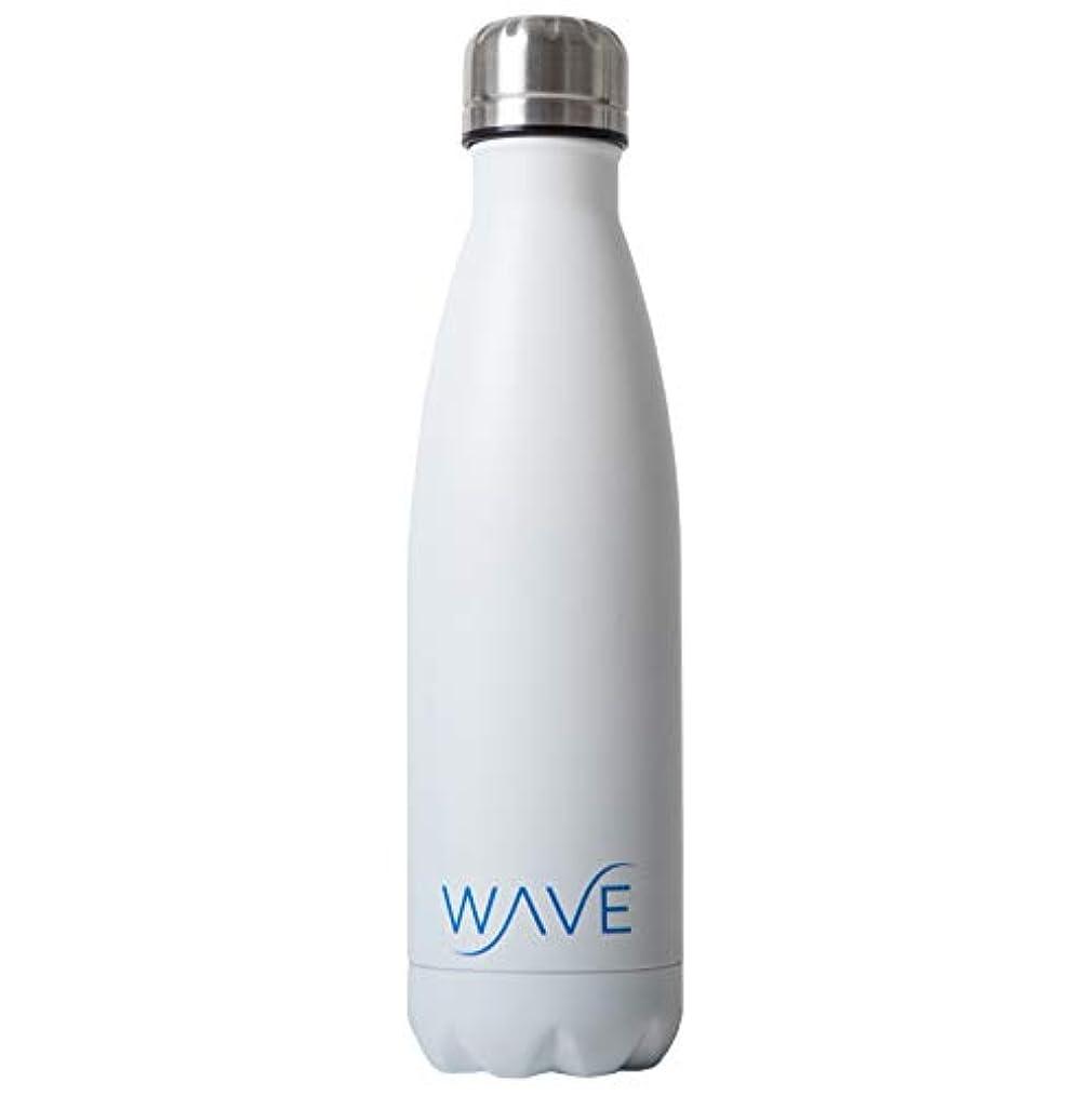 悲観的到着する私たちのものWave真空断熱旅行水ボトル|二重壁ステンレススチールCola形状ポータブル水ボトル| Keeps Drinks Cold for 24時間&ホットの12時間| 17 oz (500 ml)