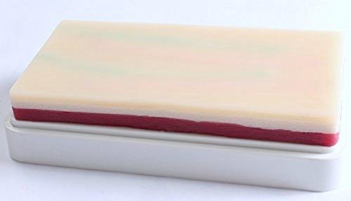 人工 皮膚 筋肉 樹脂 パッド 手袋 セット 人体模型 注射練習 シミュレーション 縫合練習 学習教材 にも L988