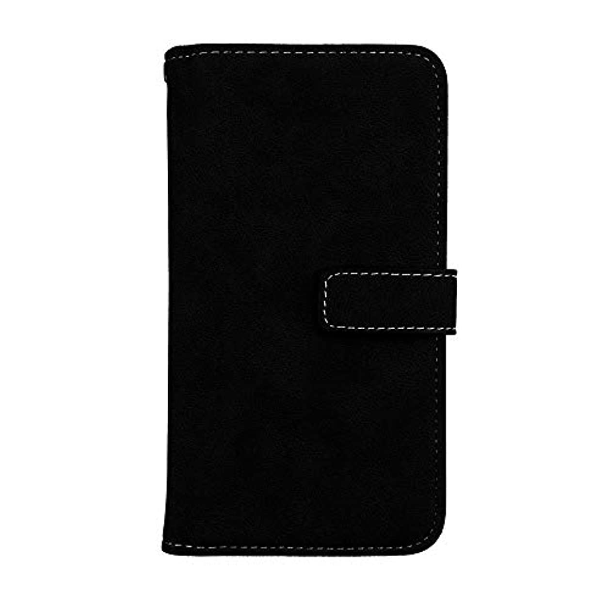 訴えるおしゃれな優しさXiaomi Redmi Note 4 高品質 マグネット ケース, CUNUS 携帯電話 ケース 軽量 柔軟 高品質 耐摩擦 カード収納 カバー Xiaomi Redmi Note 4 用, ブラック