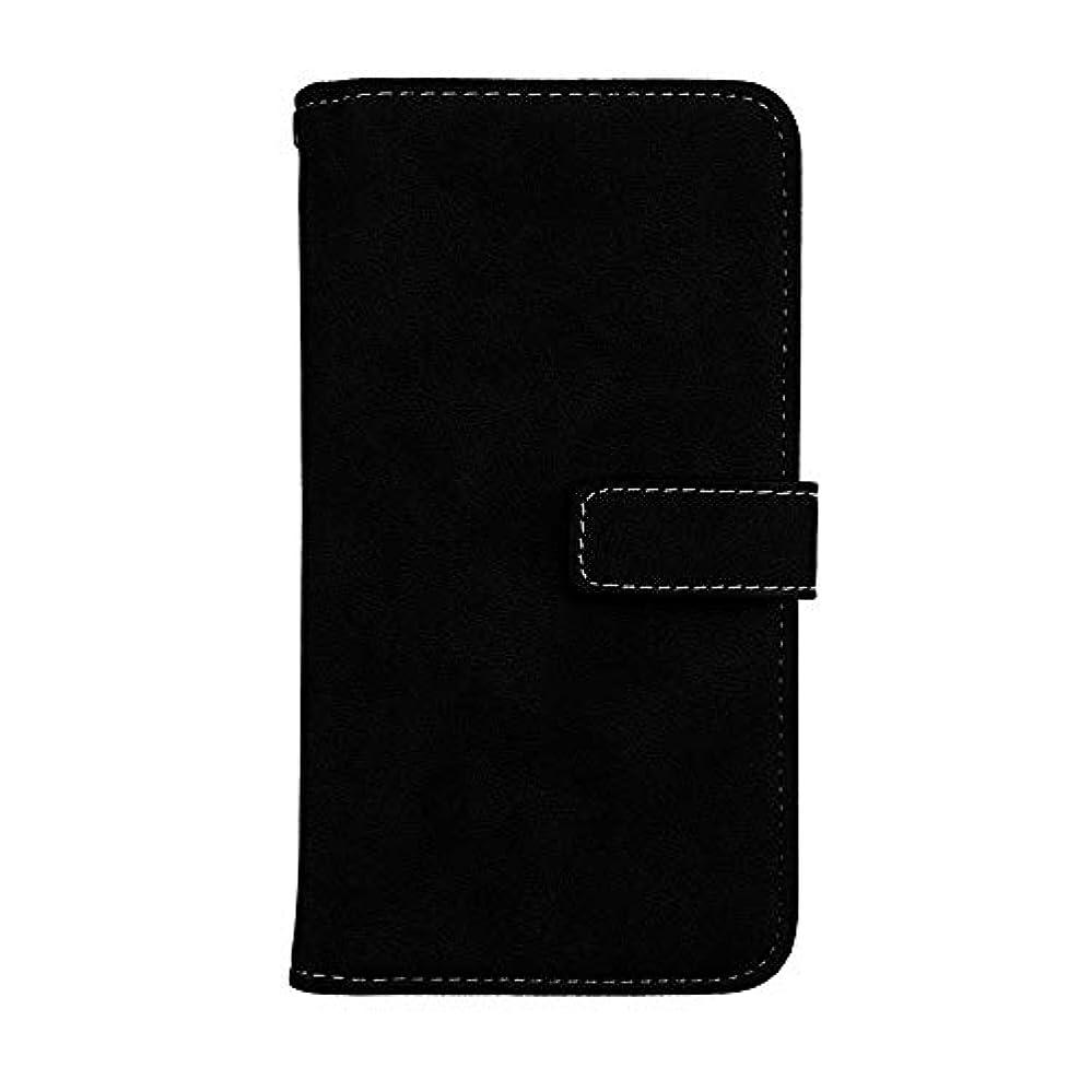 排泄する粘性のイーウェルXiaomi Redmi Note 4 高品質 マグネット ケース, CUNUS 携帯電話 ケース 軽量 柔軟 高品質 耐摩擦 カード収納 カバー Xiaomi Redmi Note 4 用, ブラック