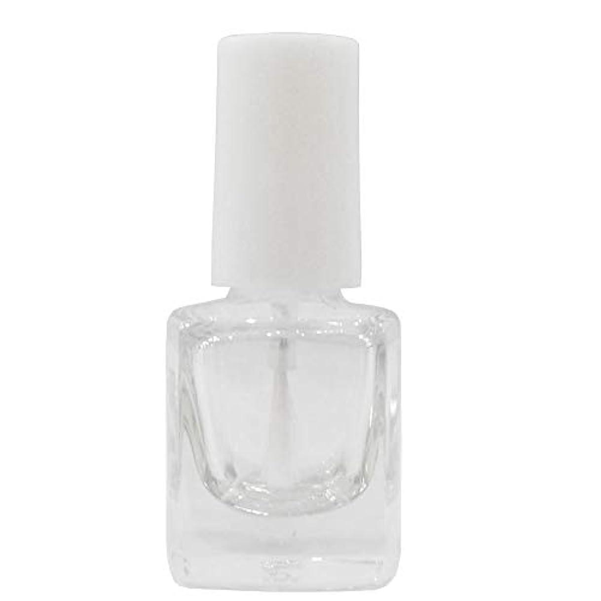 セグメント万歳効果マニキュア空ボトル5ml用?甘皮オイルなどを小分けするのに便利なスペアボトル 人気の白い刷毛