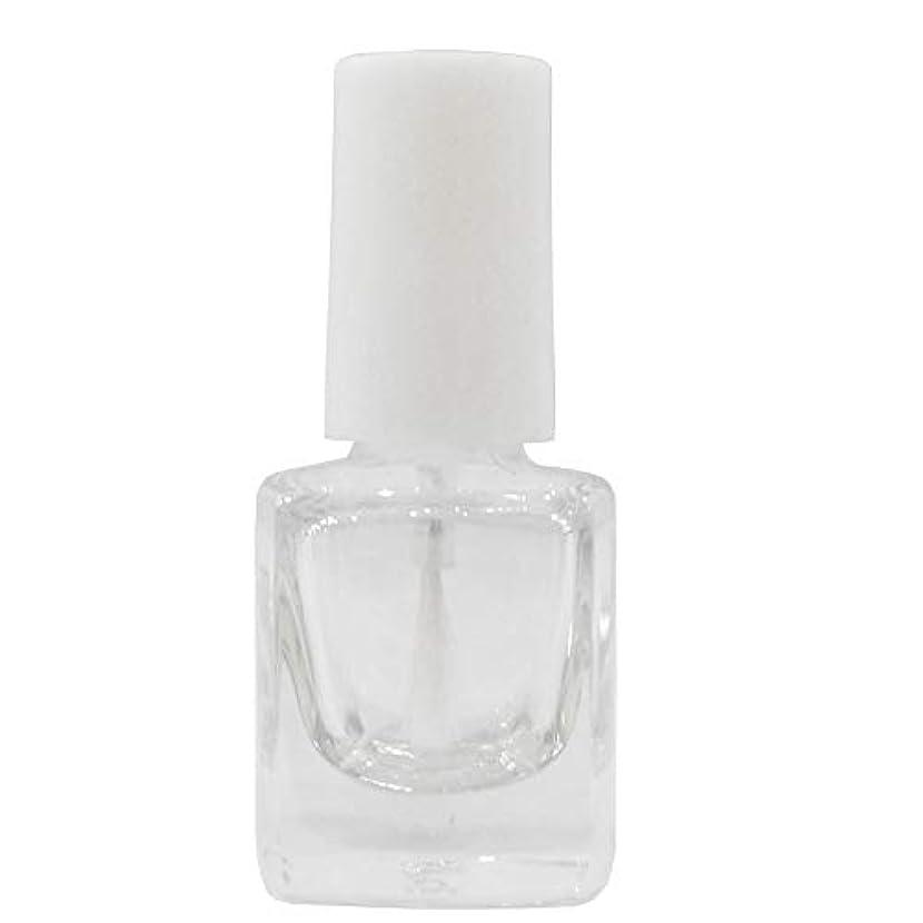 黒板花好意的マニキュア空ボトル5ml用?甘皮オイルなどを小分けするのに便利なスペアボトル 人気の白い刷毛