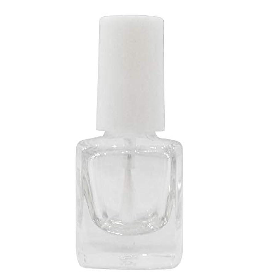 メイド保護ズームマニキュア空ボトル5ml用?甘皮オイルなどを小分けするのに便利なスペアボトル 人気の白い刷毛