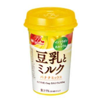 森永乳業『豆乳とミルク バナナミックス』