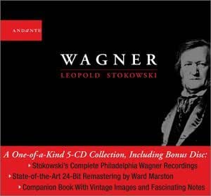 Wagner - Ouvertures, Préludes et pièces symphoniques, extraits d'opéras - livret 144 pages (Coll. Andante)