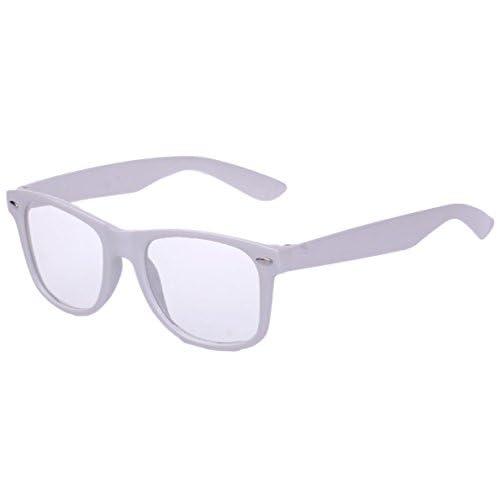 Eozy パソコン用メガネ pcメガネ パソコンメガネ UVカットも PC眼鏡 パソコン、スマートフォン、ゲームなどのブルーライトを低減 パソコンめがね (ホワイト)