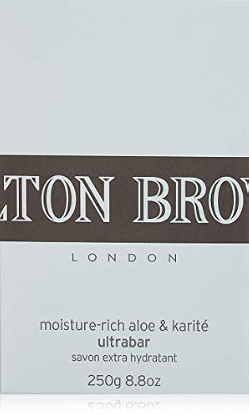 近々薄暗い理容室MOLTON BROWN(モルトンブラウン) モイスチャーリッチ アロエ&カリテ ウルトラバー 250g
