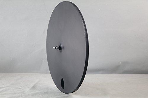 ICAN(アイカン)カーボン チューブラー ホイールセット 3S+DC01 3K-マット トライ-スポーク トライアスロン/タイム ピストバイク用 約1379g