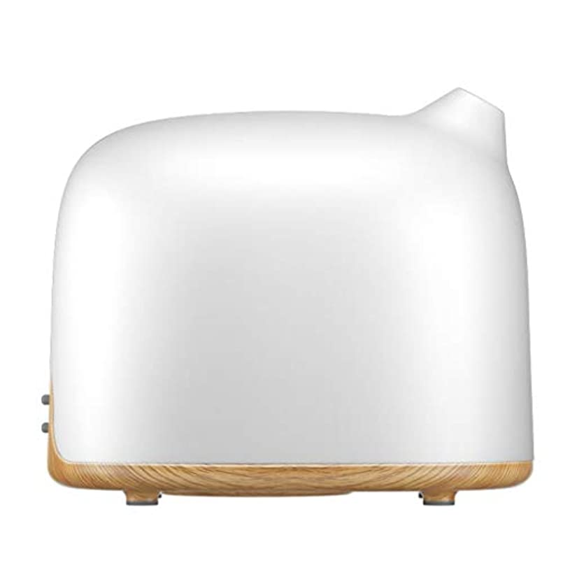 空気加湿器ホームサイレント寝室妊娠中の女性ベビーエアフォグ大容量ディフューザー (Color : Natural)