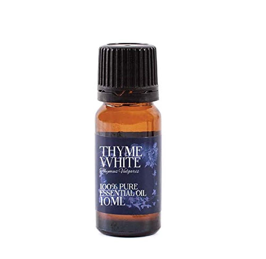 恨み裁判所蒸留するMystic Moments | Thyme Essential Oil - 10ml - 100% Pure