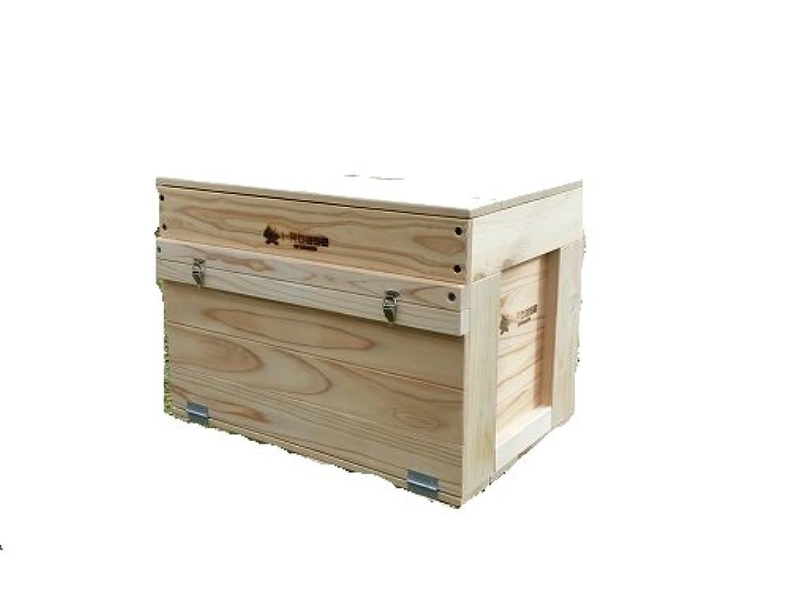 i-Rbase(アイアールベース) STACK 収納BOX hinge-woodcover