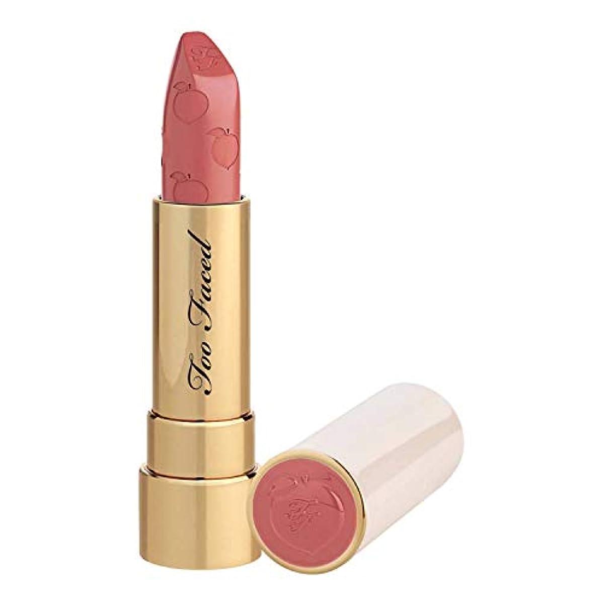 ミスペンドありがたいそれに応じてTOO FACED Peach Kiss Moisture Matte Long Wear Lipstick – Peaches and Cream Collection (Bridezilla)
