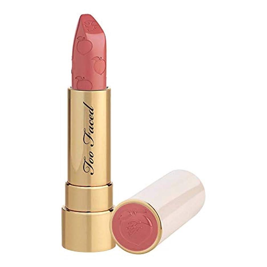 トレース船外書士TOO FACED Peach Kiss Moisture Matte Long Wear Lipstick – Peaches and Cream Collection (Bridezilla)