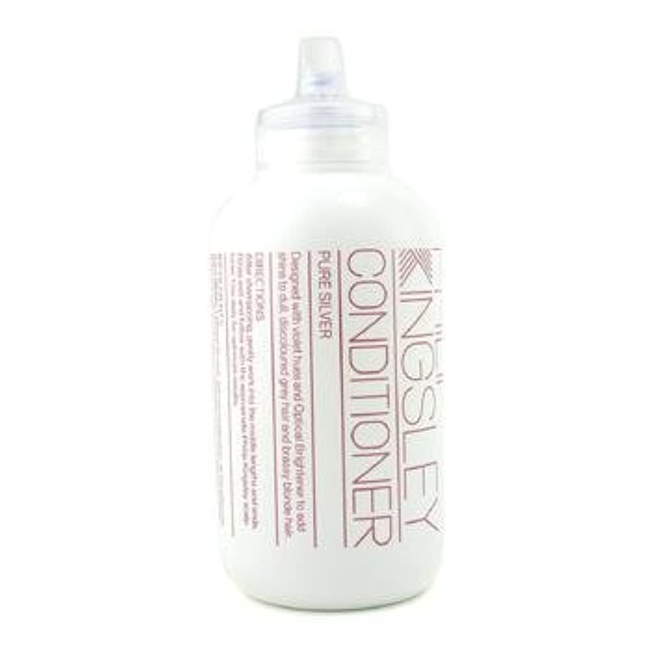 ショップ鳩防腐剤[Philip Kingsley] Pure Silver Conditioner ( For Dull Discoloured Grey Hair and Brassy Blonde Hair ) 250ml/8.45oz