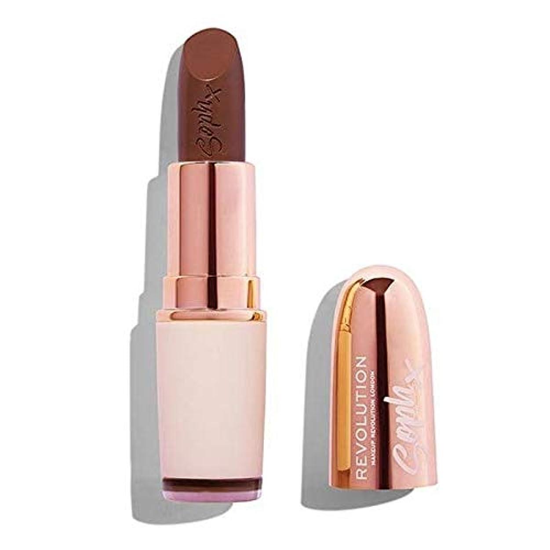 リースことわざ姓[Revolution ] 革命Sophヌード口紅ファッジ - Revolution Soph Nude Lipstick Fudge [並行輸入品]