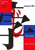 OpenType 学参常用対応 太ゴ B101 for Macintosh