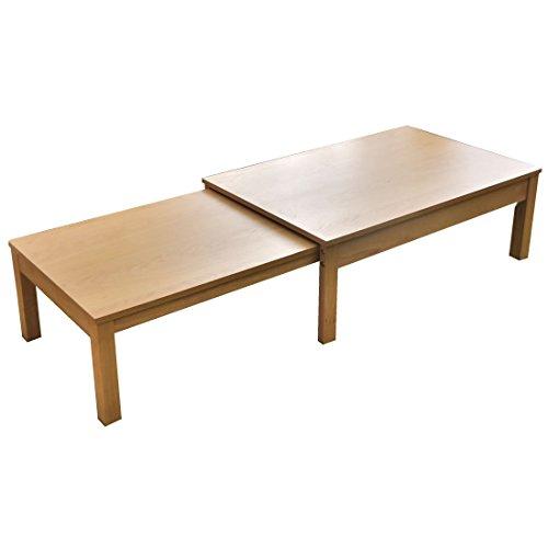 タンスのゲン 幅100~180cm 伸張式テーブル 無段階伸縮 スライド式 エクステンションテーブル 木製 北欧 ナチュラル 11719184 NA
