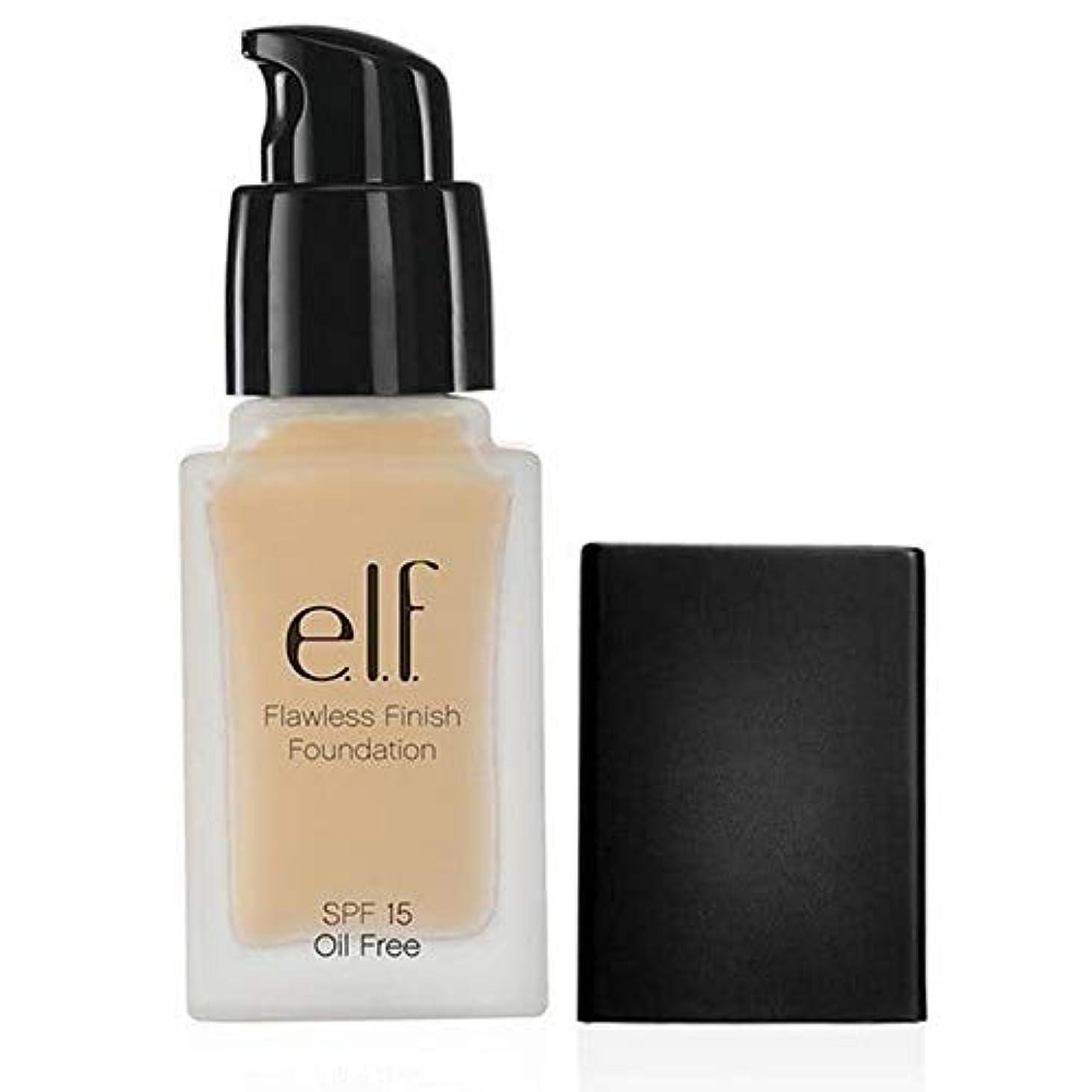 測定東焦がす[Elf ] エルフ。完璧な仕上がりの基礎Spf15磁器111 - e.l.f. Flawless Finish Foundation SPF15 Porcelain 111 [並行輸入品]