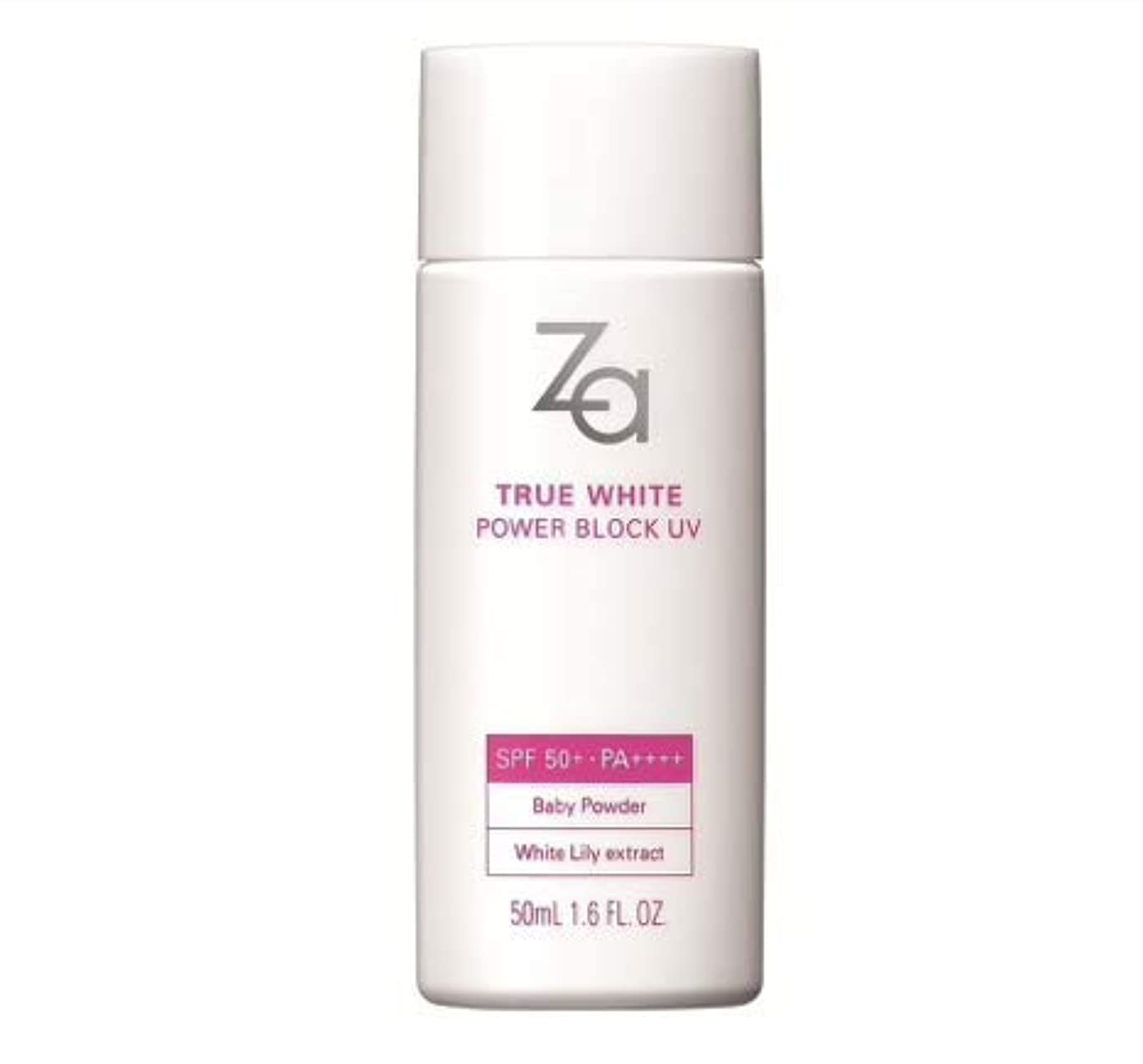 アシストサークルなぜならZa True White Power UV Blocker SPF 50 Pa ++