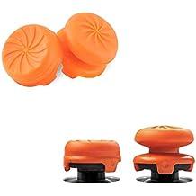 FPSフリーク PS4 コントローラー用 親指グリップキャップ RG 可動域アップ アシストキャップ 簡易パッケージ アシストキャップ 二個入り(オレンジ)