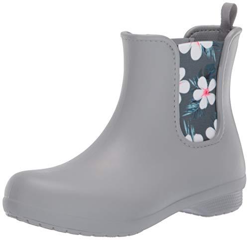 [クロックス] レインブーツ フリーセイル チェルシー ブーツ ウィメン Tropical Floral/Light Grey 21 cm