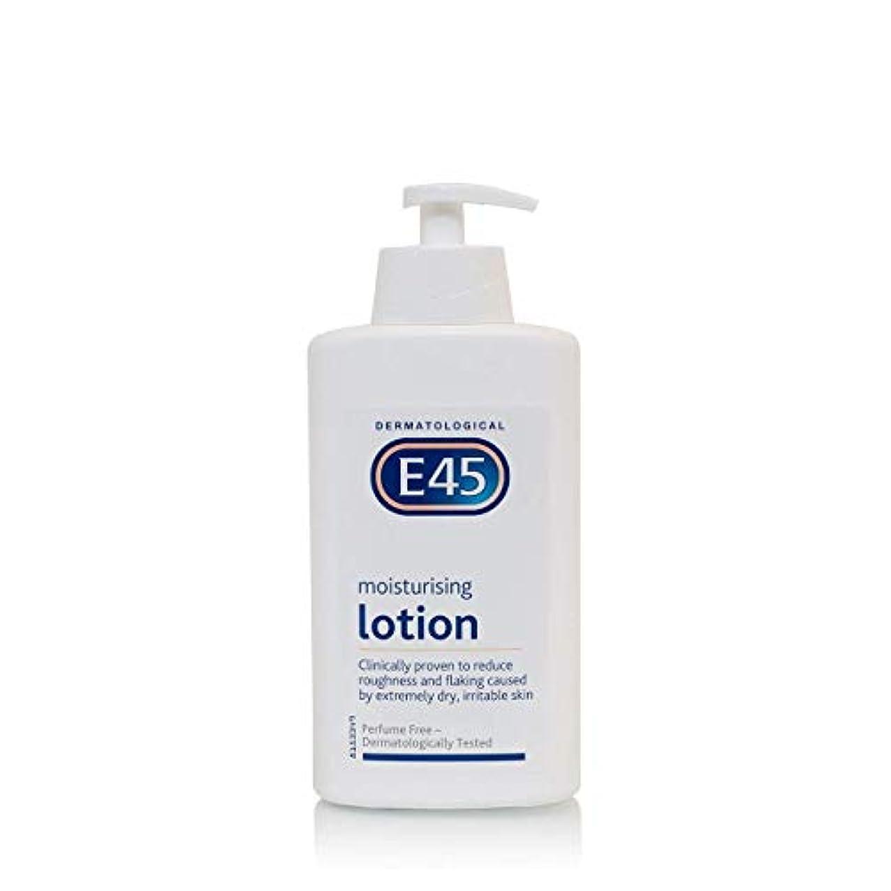 ファイナンスいつでも素晴らしきE45 Dermatological Moisturising Lotion (500ml) E45皮膚科保湿ローション( 500ミリリットル)