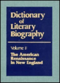 Download American Renaissance in New England (Dictionary of Literary Biography) 0810309130