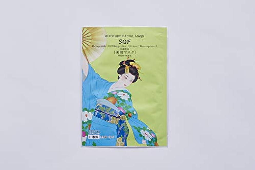 傾斜ピース飛行機愛粧堂 舞妓マスク 3GF 10枚セット