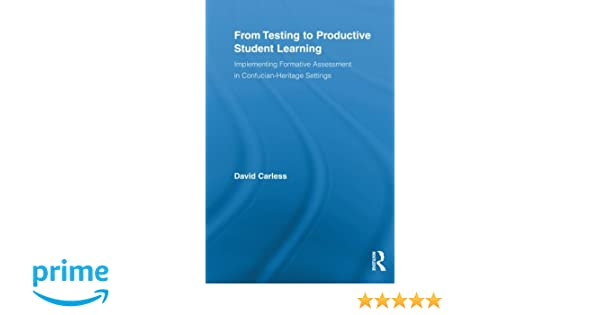 amazon from testing to productive student learning routledge