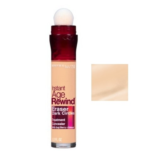 MAYBELLINE Instant Age Rewind Eraser Dark Circles + Treatment - Light (並行輸入品)