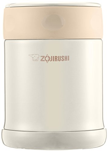 象印 (ZOJIRUSHI) ステンレスフードジャー 350ml クリーム SW-EE35-CC