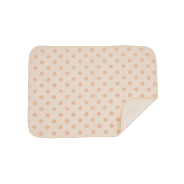 ベビー用おでかけ防水シーツ(ポーチ付き) ベージュの商品画像