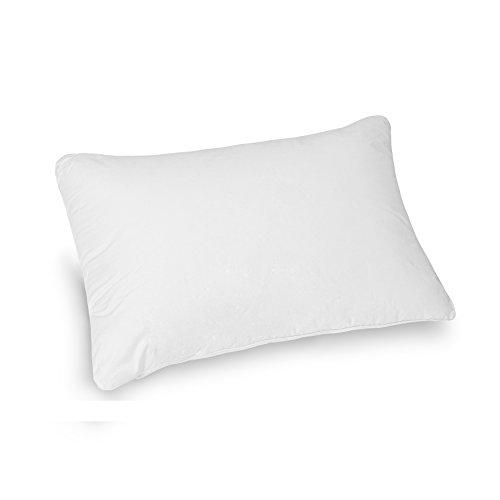 ネヤス快眠枕 高反発ピロー 肩こり対策 頚髄サポート健康枕 洗える 高級ホテル仕様 (43x63cm、ホワイト)