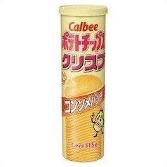 カルビー ポテトチップスクリスプ コンソメパンチ Lサイズ 115g