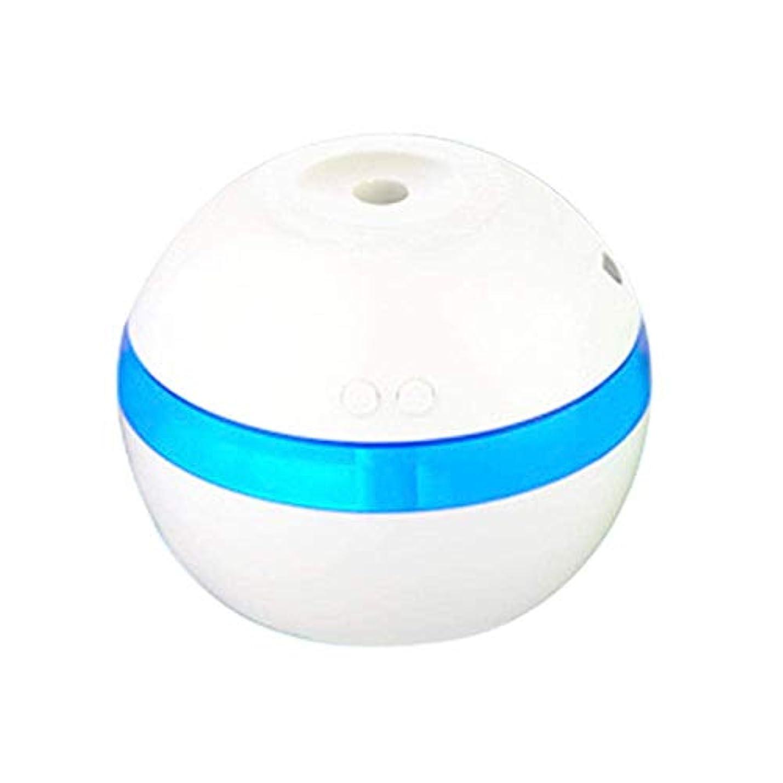 政権熱帯の記述するSOTCE アロマディフューザー加湿器超音波霧化技術満足のいく解決策美しい装飾ソフト変色湿潤環境 (Color : White)